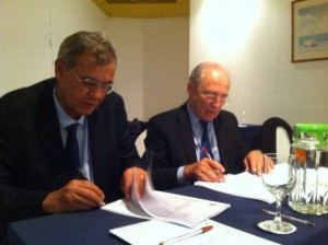 Signature contrat CEVITAL - IRSI