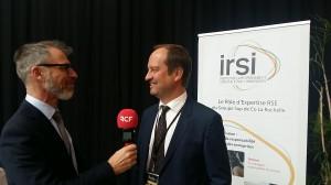 Eric Vernier, Directeur de l'IRSI – Groupe Sup de Co La Rochelle, co-organisateur de l'étape de La Rochelle