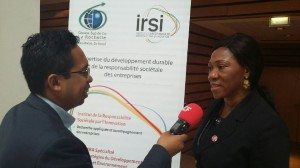 Adèle Kamtchouang, Pdg de Tropik Industries Cameroun SA
