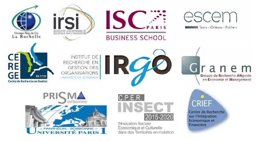 Logos partenaires FinTech Bordeaux ANDESE